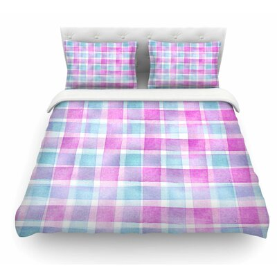 Checked Tartan Sin by Michelle Drew Plaid Featherweight Duvet Cover Size: Queen