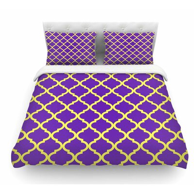 Culture Shock by Matt Eklund Featherweight Duvet Cover Size: Queen