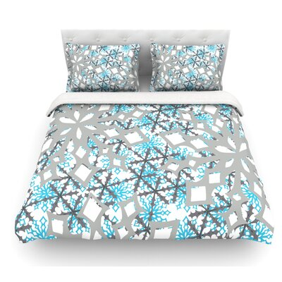 Chilly by Miranda Mol Featherweight Duvet Cover Size: Twin, Fabric: Woven Polyester