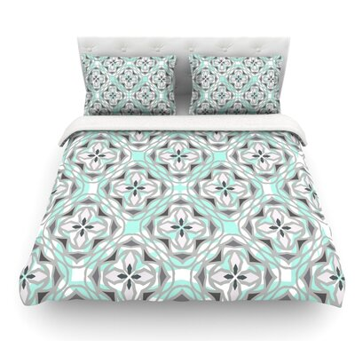Winter Pool by Miranda Mol Featherweight Duvet Cover Size: Queen, Fabric: Lightweight Polyester