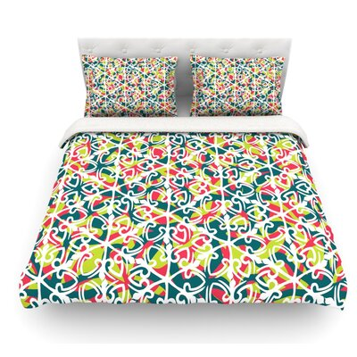 Cool Yule by Miranda Mol Featherweight Duvet Cover Size: King, Fabric: Lightweight Polyester