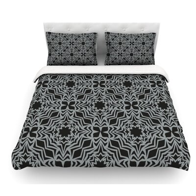 Optical Fest by Miranda Mol Featherweight Duvet Cover Size: Queen, Fabric: Lightweight Polyester
