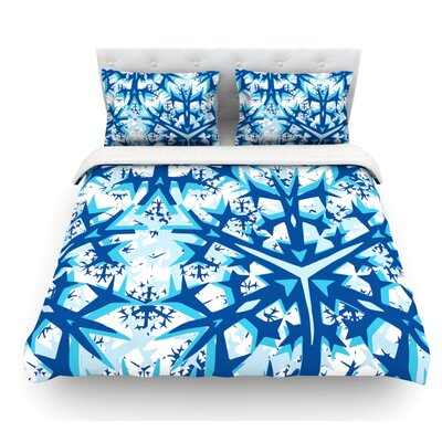 Winter Mountains by Miranda Mol Featherweight Duvet Cover Size: Full/Queen, Fabric: Woven Polyester