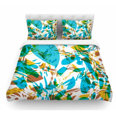 Wild Areas by Matthias Hennig Floral Featherweight Duvet Cover Size: Twin