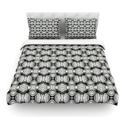 Flor by Matthias Hennig Featherweight Duvet Cover Size: King, Fabric: Lightweight Polyester