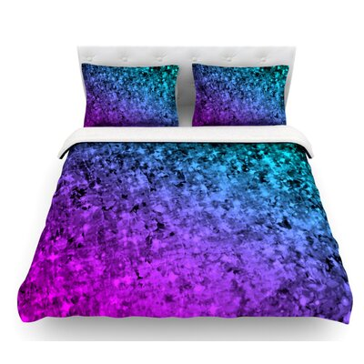 Romance Me by Ebi Emporium Featherweight Duvet Cover Size: Queen, Color: Teal/Blue