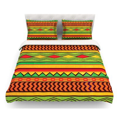Egyptian by Louise Machado Featherweight Duvet Cover Size: Full/Queen, Fabric: Woven Polyester