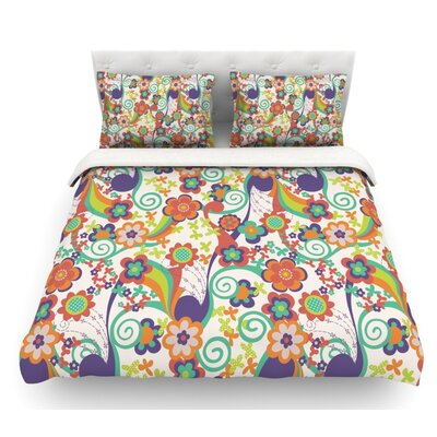 Printemps by Louise Machado Featherweight Duvet Cover Size: Twin