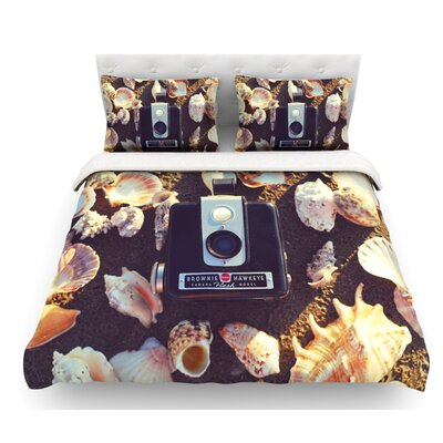 The Four Seasons: Summer by Libertad Leal Featherweight Duvet Cover Size: Queen, Fabric: Cotton
