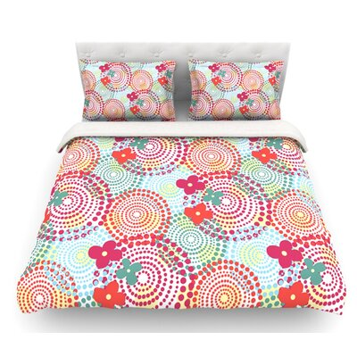 Balls by Louise Machado Featherweight Duvet Cover Size: King, Fabric: Lightweight Polyester