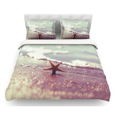 You are a Star by Libertad Leal Featherweight Duvet Cover Size: King, Fabric: Lightweight Polyester