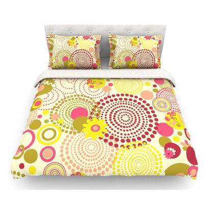 Poa by Louise Machado Featherweight Duvet Cover Size: Queen