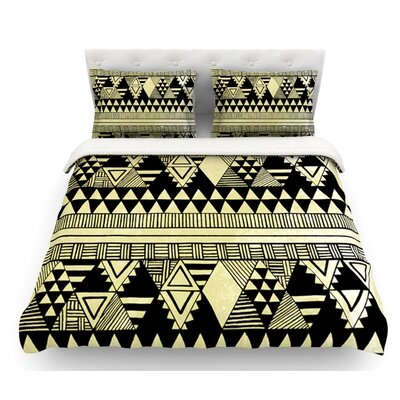 Ethnic Chic by Louise Machado Featherweight Duvet Cover Size: King