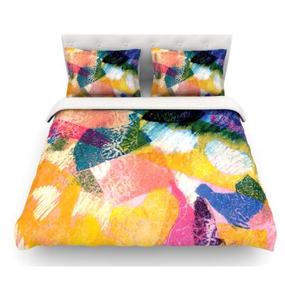 Texture by Louise Machado Featherweight Duvet Cover Size: Queen