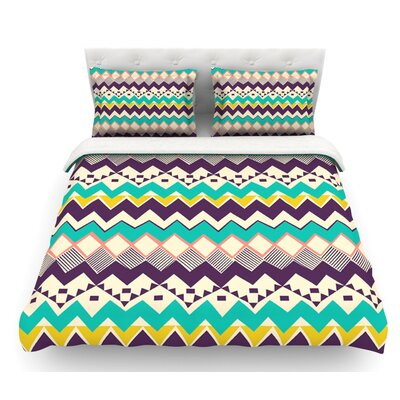 Ethnic Color by Louise Machado Featherweight Duvet Cover Size: Twin