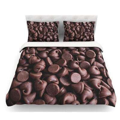Yay! by Libertad Leal Candy Featherweight Duvet Cover Size: Twin, Fabric: Woven Polyester