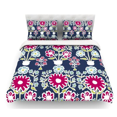 Turkish Vase by Laura Nicholson Featherweight Duvet Cover Size: Queen