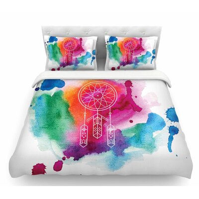 Dream in Color  Featherweight Duvet Cover Size: Twin