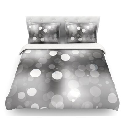 Spectral  Bokeh Featherweight Duvet Cover Size: King, Fabric: Lightweight Polyester