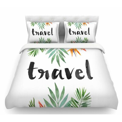 Travel  Featherweight Duvet Cover Size: King