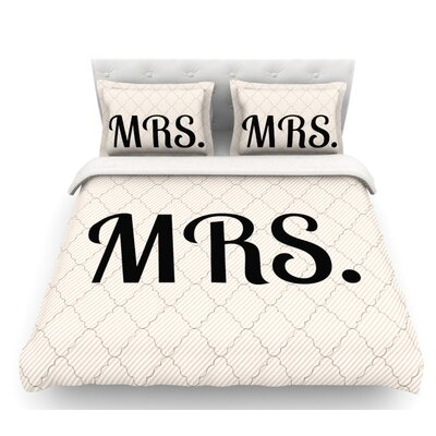 MRS  Featherweight Duvet Cover Size: Twin