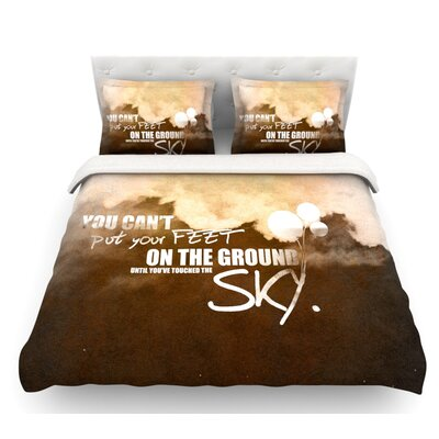 Touch the Sky  Featherweight Duvet Cover Size: Queen