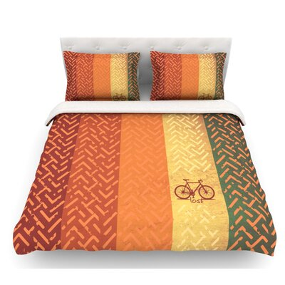 Lost  Featherweight Duvet Cover Size: Twin