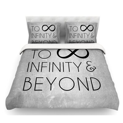 To Infinity and Beyond  Featherweight Duvet Cover Size: Queen, Fabric: Lightweight Polyester