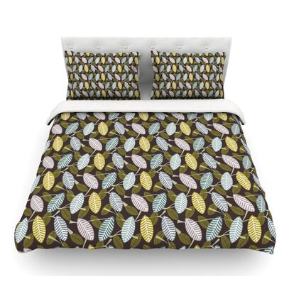 Moss Canopy by Julie Hamilton Featherweight Duvet Cover Size: Queen
