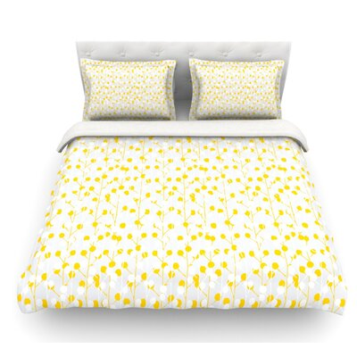Drop by Julie Hamilton Featherweight Duvet Cover Size: King/California King, Fabric: Woven Polyester