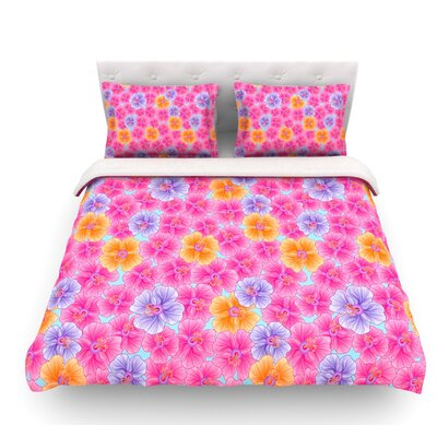 My Garden by Julia Grifol Featherweight Duvet Cover Size: Twin