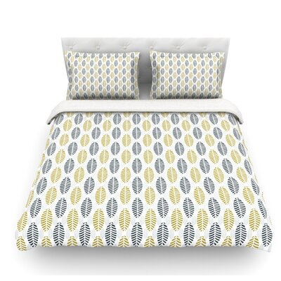 Seaport by Julie Hamilton Featherweight Duvet Cover Size: Queen