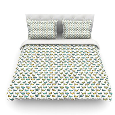 Spring Stem by Julie Hamilton Featherweight Duvet Cover Size: King