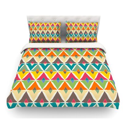 My Diamond by Julia Grifol Featherweight Duvet Cover Size: Twin, Fabric: Cotton