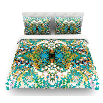 Summer Breeze by Nikposium Featherweight Duvet Cover Size: Twin, Fabric: Cotton