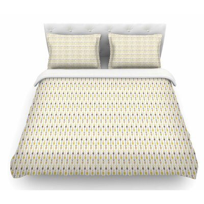 Arrows by Petit Griffin Featherweight Duvet Cover Size: Queen