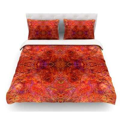 Sedona by Nikposium Featherweight Duvet Cover Size: Twin, Fabric: Lightweight Polyester