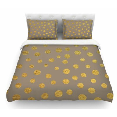 Earth Dots by Nika Martinez Featherweight Duvet Cover Size: Queen