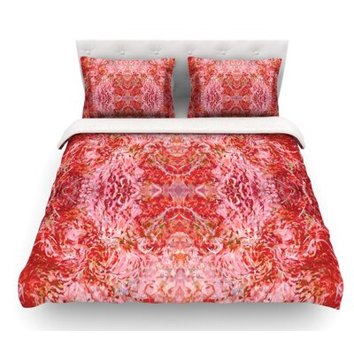 Chili by Nikposium Featherweight Duvet Cover Color: Eden, Size: Full/Queen