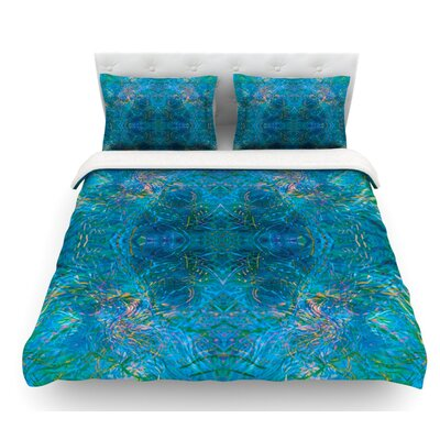 Nikposium Featherweight Duvet Cover Size: Queen, Fabric: Lightweight Polyester