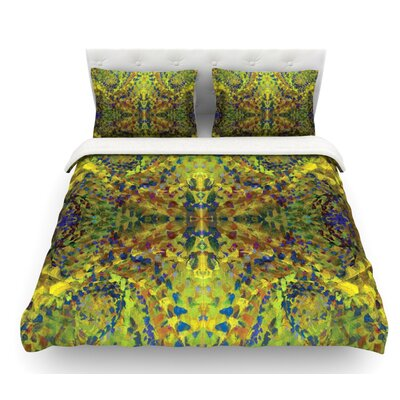 Jacket by Nikposium Abstract Featherweight Duvet Cover Size: Queen, Fabric: Woven Polyester