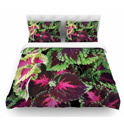 Forest by Louise Machado Featherweight Duvet Cover Size: King