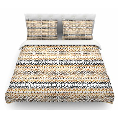 Africa by Li Zamperini Tribal Featherweight Duvet Cover Size: Twin