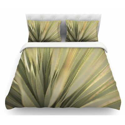 Cactus by Kristi Jackson Featherweight Duvet Cover Size: Queen