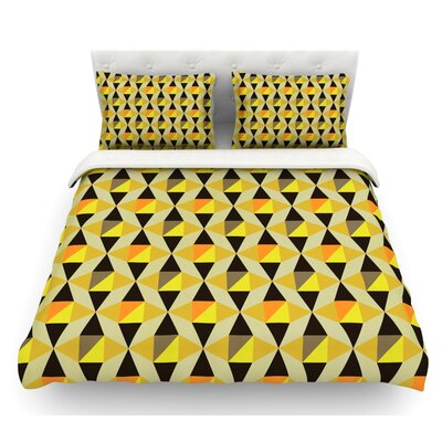 Onyx by Louise Machado Featherweight Duvet Cover Size: Queen, Fabric: Woven Polyester
