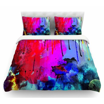 Thoughts by Li Zamperini Featherweight Duvet Cover Size: King
