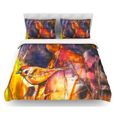 In Depth by Kristin Humphrey Featherweight Duvet Cover Size: Queen