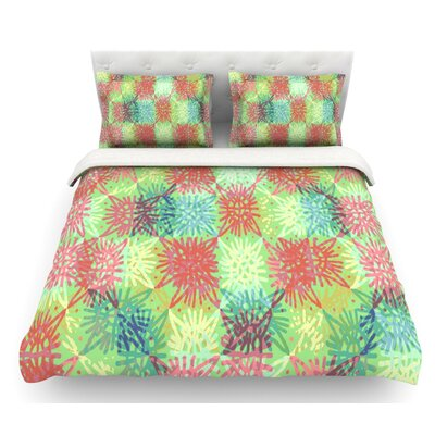 Lacy by Laura Nicholson Featherweight Duvet Cover Size: Twin