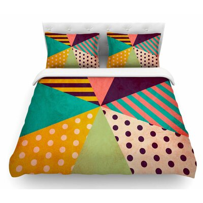 Umbrella by Louise Machado Featherweight Duvet Cover Size: King