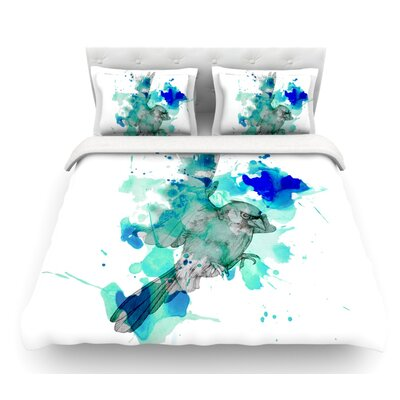 A Cardinal by Kira Crees Featherweight Duvet Cover Size: Twin